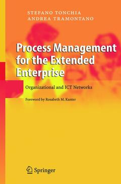 Couverture de l'ouvrage Process Management for the Extended Enterprise