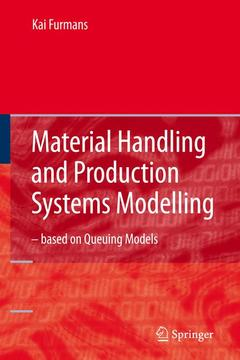 Couverture de l'ouvrage Material handling and production systems modelling - based on queuing models