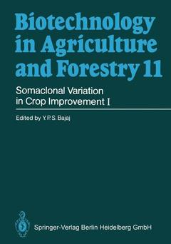 Cover of the book Somaclonal variation and crop improvement 1 (Biotechnology in agriculture and forestry volume 11)