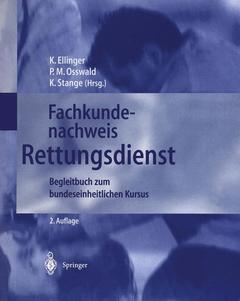 Couverture de l'ouvrage Fachkundenachweis rettungsdienst