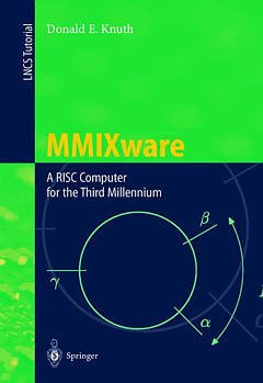 Cover of the book MMIXware, a RISC computer for the third millenium (LNCS 1750)