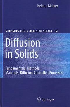 Couverture de l'ouvrage Diffusion in Solids