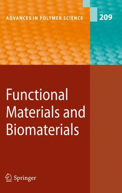 Couverture de l'ouvrage Functional materials and biomaterials