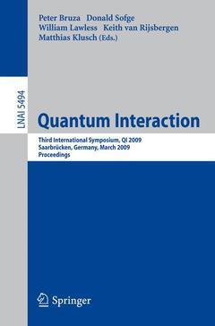 Couverture de l'ouvrage Quantum interaction (Lecture notes in artificial intelligence, Vol. 5494)