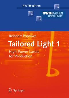 Cover of the book Tailored light 1