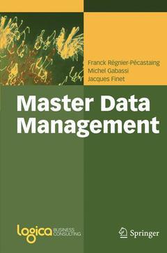 Couverture de l'ouvrage Master data management