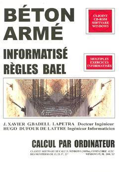 Couverture de l'ouvrage Béton armé. Informatisé. Règles BAEL Calcul par ordinateur
