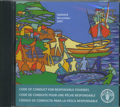 Couverture de l'ouvrage Code of conduct for responsible fisheries. Updated November 2007, CD-ROM Trilingual (En/Fr/Es)