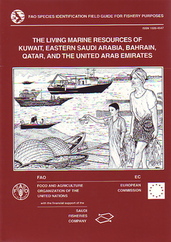 Couverture de l'ouvrage Living marine resources of Kuwait, Eastern Saudi Arabia , Bahrain, Qatar and the United Arab Emirates