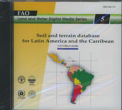 Couverture de l'ouvrage Soil and terrain database for Latin America and the Carribean 1998, CD ROM