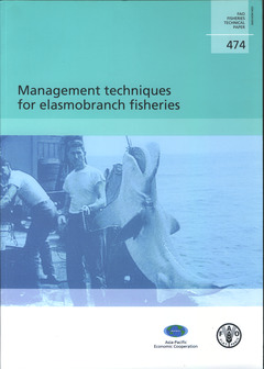 Couverture de l'ouvrage Management techniques for elasmobranch fisheries
