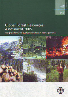 Couverture de l'ouvrage Global forest resources assessment 2005