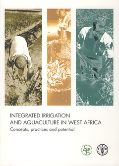 Couverture de l'ouvrage Integrated irrigation and aquaculture in West Africa