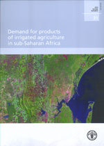 Couverture de l'ouvrage Demand for products of irrigated agriculture in sub-Saharan Africa