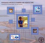 Couverture de l'ouvrage Introduced species in fisheries & aquaculture : information for responsible use & control, CD-ROM