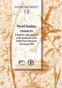 Couverture de l'ouvrage World bamboo resources