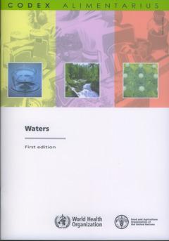 Couverture de l'ouvrage Waters
