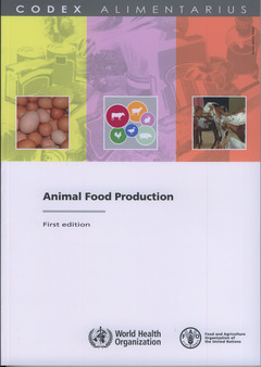 Couverture de l'ouvrage Animal food production
