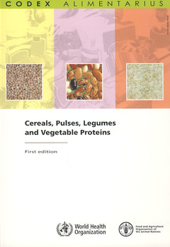 Couverture de l'ouvrage Cereals, pulses, legumes and vegetable proteins