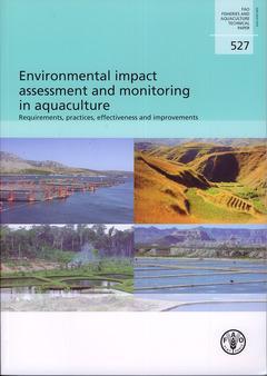Couverture de l'ouvrage Environmental impact assessment & monitoring in aquaculture