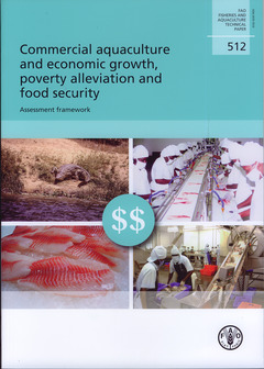 Couverture de l'ouvrage Commercial aquaculture and economic growth, poverty alleviation and food security