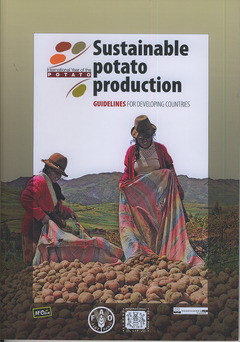 Couverture de l'ouvrage Sustainable potato production. Guidelines for developing countries