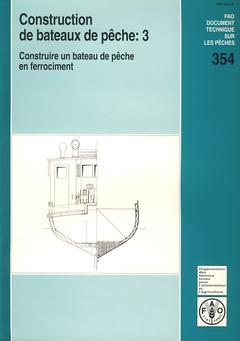 Couverture de l'ouvrage Construction de bateaux de pêche 3
