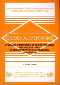 Couverture de l'ouvrage Systèmes d'inspection des importations et des exportations alimentaires