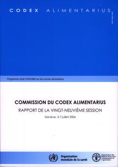 Couverture de l'ouvrage Rapport de la 29° session, Genève, 3-7 Juillet 2006