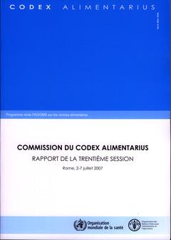 Couverture de l'ouvrage Rapport de la trentième session, Rome, 2-7 Juillet 2007.