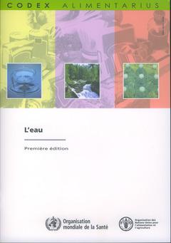 Couverture de l'ouvrage L'eau