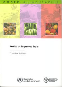 Couverture de l'ouvrage Fruits et légumes frais
