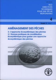 Couverture de l'ouvrage Aménagement des pêches