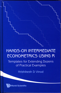 Couverture de l'ouvrage Hands-on intermediate econometrics using R (with CD-ROM)