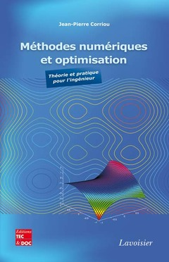Couverture de l'ouvrage Méthodes numériques et optimisation