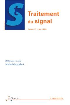 Couverture de l'ouvrage Traitement du Signal Volume 27 N° 2/Mars -Avril 2010