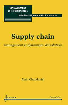 Couverture de l'ouvrage Supply chain