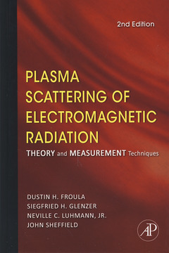 Cover of the book Plasma Scattering of Electromagnetic Radiation