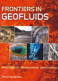 Couverture de l'ouvrage Frontiers in Geofluids
