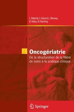 Couverture de l'ouvrage Oncogériatrie