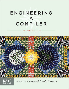 Cover of the book Engineering a Compiler