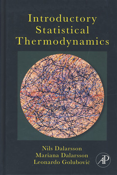 Couverture de l'ouvrage Introductory Statistical Thermodynamics