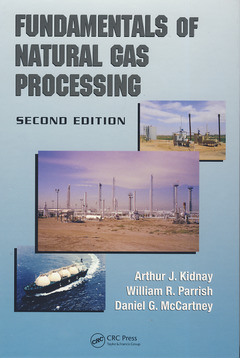 Couverture de l'ouvrage Fundamentals of natural gas processing (2nd Ed.)