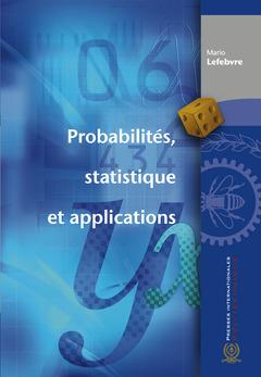 Couverture de l'ouvrage Probabilités, statistique et applications