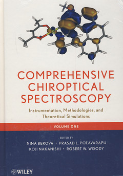 Couverture de l'ouvrage Advances in chiroptical methods
