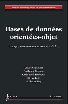 Couverture de l'ouvrage Bases de données orientées-objet