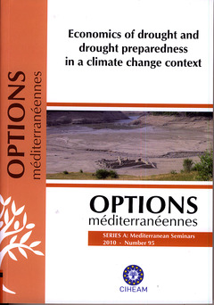 Couverture de l'ouvrage Economics of drought and drought preparedness in a climate change context