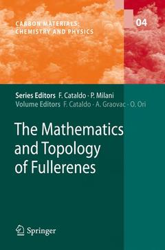 Cover of the book The mathematics and topology of fullerenes (Carbon materials, chemistry and physics, Vol. 4)