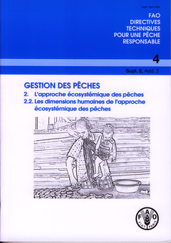 Couverture de l'ouvrage Gestion des pêches 2 : l'approche écosystémique des pêches, 2.2 : les dimensions humaines de l'approche écosystémique des pêches