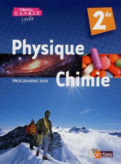 Physique Chimie Seconde Livre De L Eleve Ruffenach Mathieu